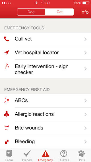First Aid App. American Red Cross