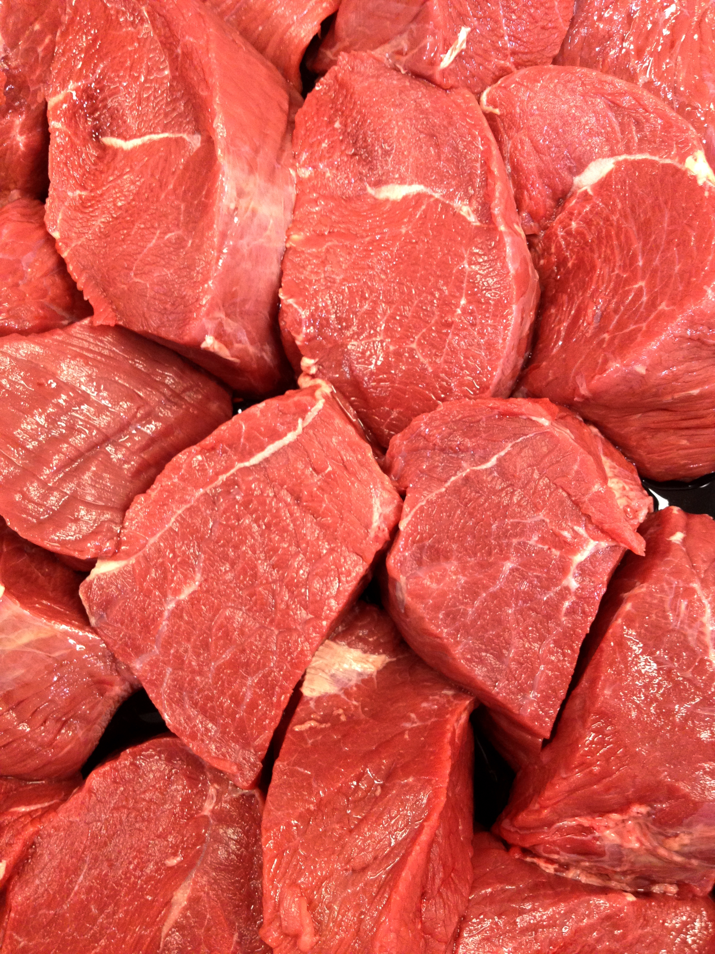 raw meat background