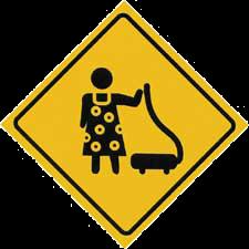 Vaccuum Sign