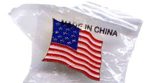 Made in China USA Flag DONE