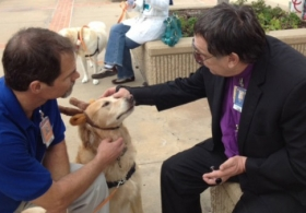 Scripps Holiday Party for Therapy Dogs