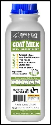 Raw Paws Goat's Milk Framed