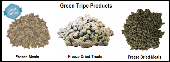 Raw Paws Green Tripe
