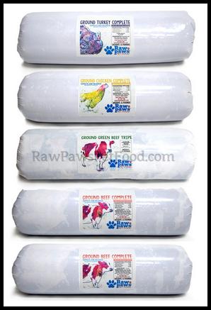 Raw Paws Tubes Framed